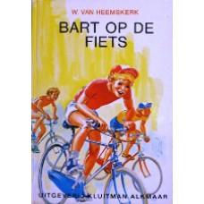 Bart op de fiets