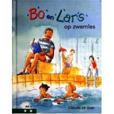 Bo en Lars op zwemles