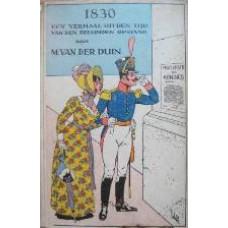 1830, Een verhaal uit den tijd van den Belgischen opstand
