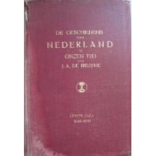 De Geschiedenis van Nederland in onzen tijd - 3 delen 1848-1872