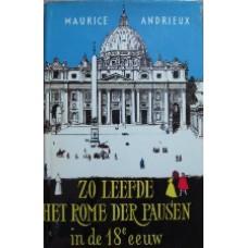 Zo leefden Het Rome der Pausen